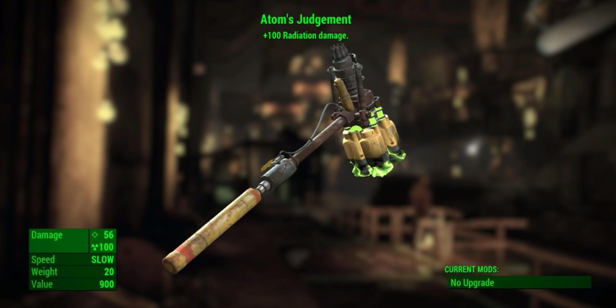 Fallout 4 - Atom's Judgement