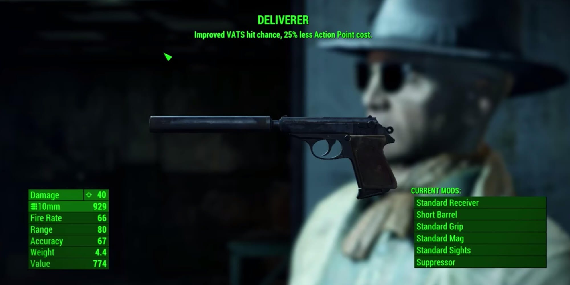 Fallout 4 weapons - deliverer