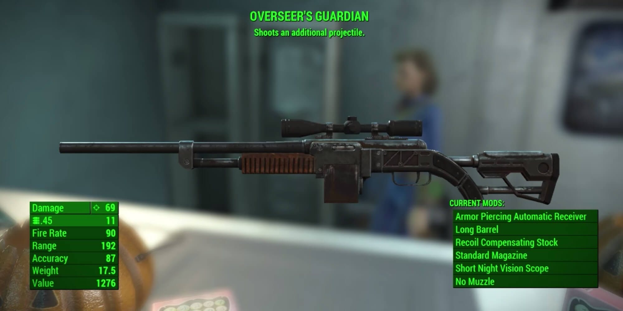 Fallout 4 - Overseer's Guardian