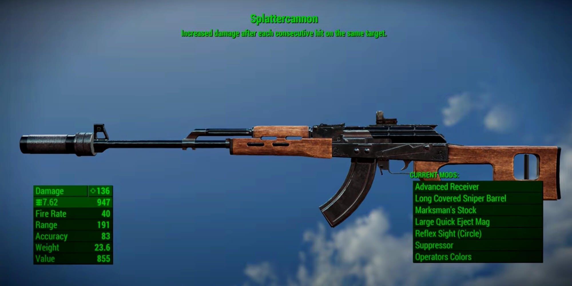 Fallout 4 - Splattercannon