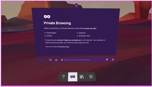Firefox Reality Porn Apps Oculus Quest