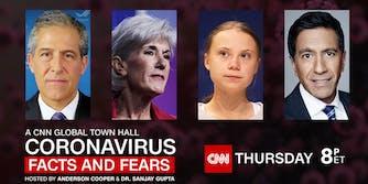 Greta Thunberg CNN town hall