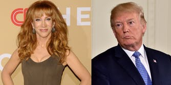 Kathy Griffin and Trump