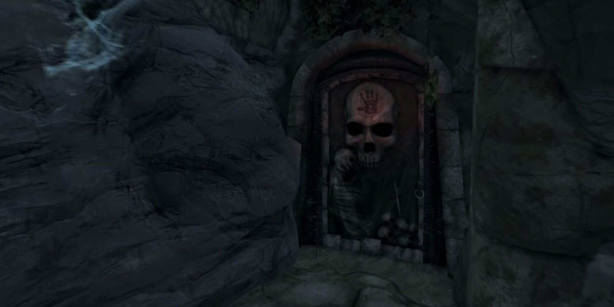 The Dark Brotherhood - door