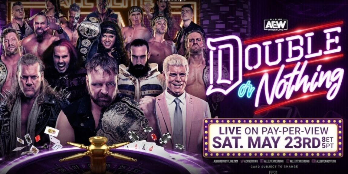 AEW Double or Nothing stream
