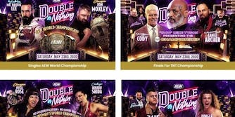 AEW double or nothing live stream fight card