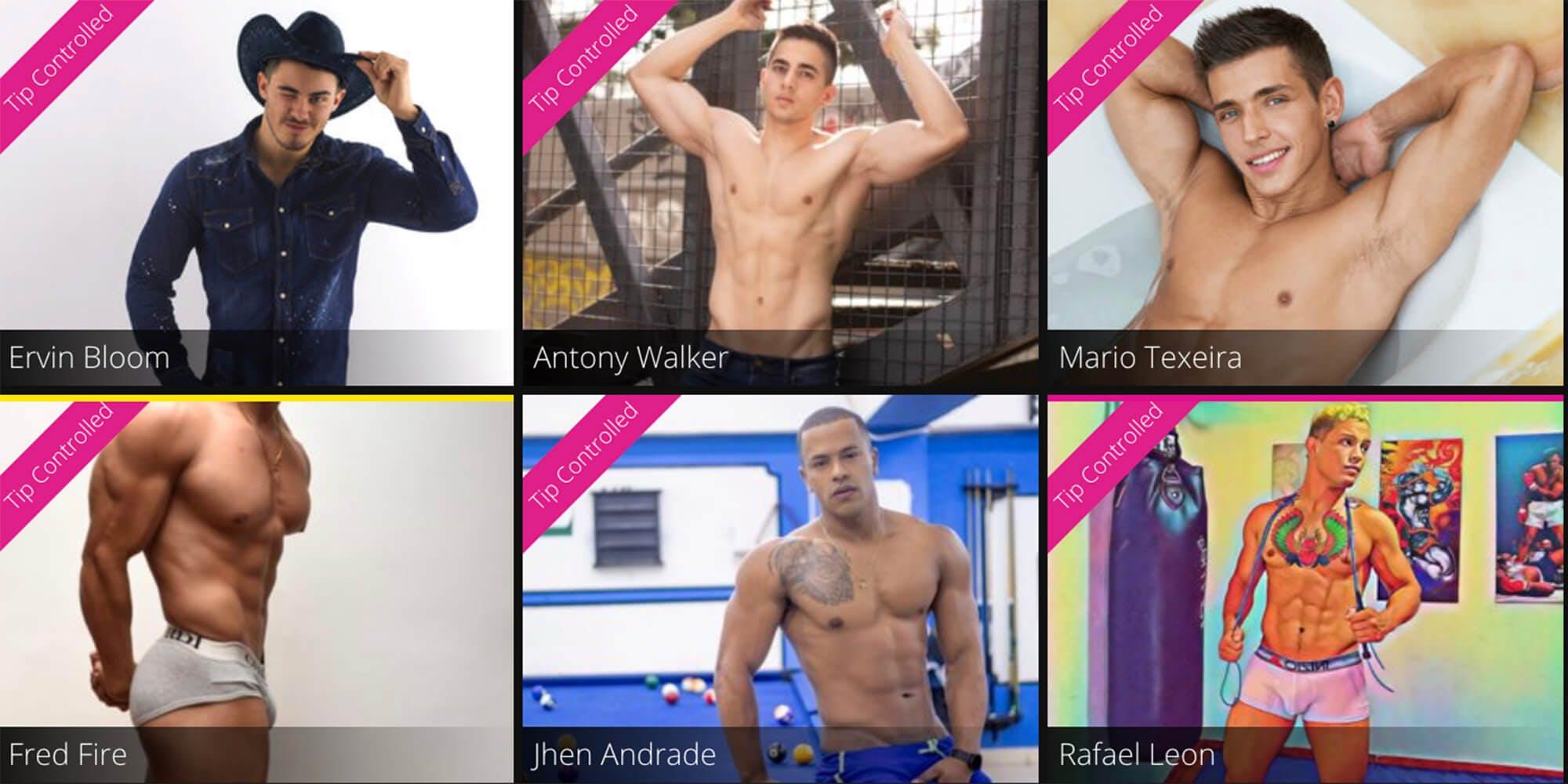 best gay cam sites - flirt4free