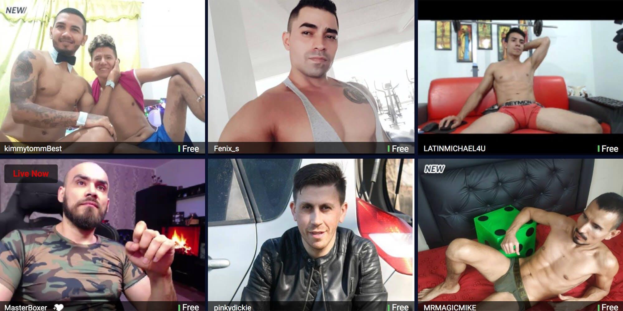 best gay cam sites - supermen
