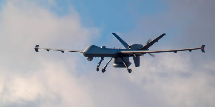 A CBP Predator drone