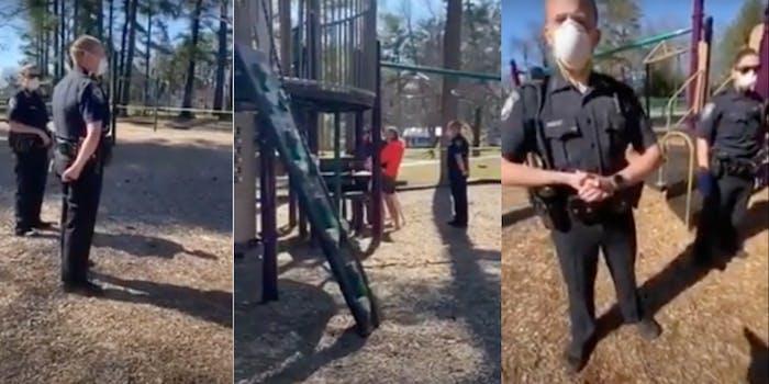 cops_new_hampshire_playground