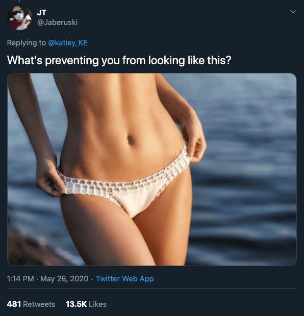 dear women tweet meme
