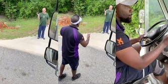 fedex workers fired video customer