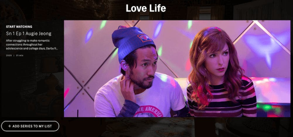 hbomax review - love life