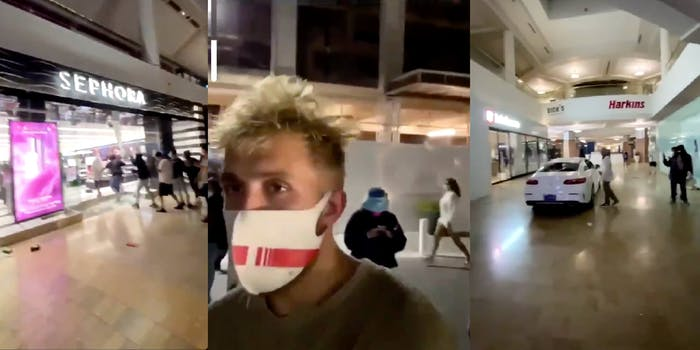 jake paul looting