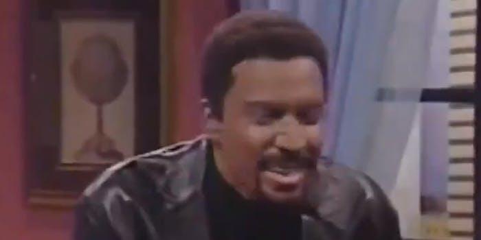 Jimmy Fallon as Chris Rock using blackface