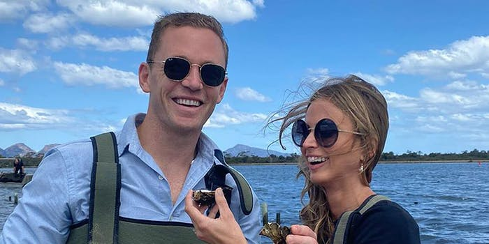 joel selwood and his wife
