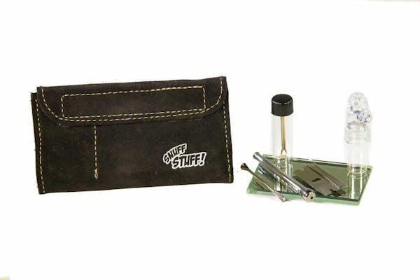 leather snuff kit