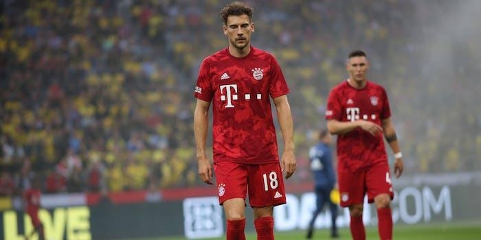 Leon Goretzka of Bayern Munich