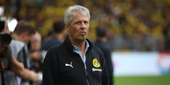 Borussia Dortmund manager Lucien Favre