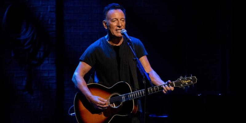 Musical movies on Netflix - Springsteen on Broadway