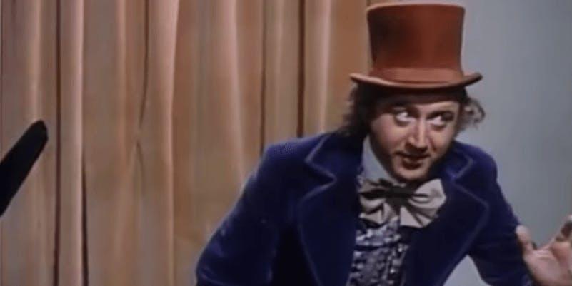 Musical movies on Netflix - Willy Wonka
