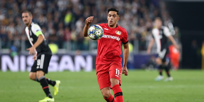 Nadiem Amiri of Bayer Leverkusen
