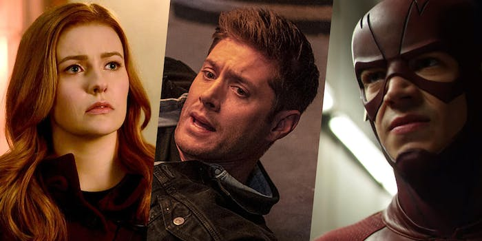 nancy drew, supernatural, and the flash