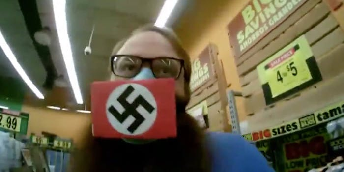 swastika face mask