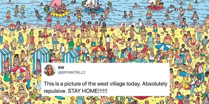 outdoor social distancing memes