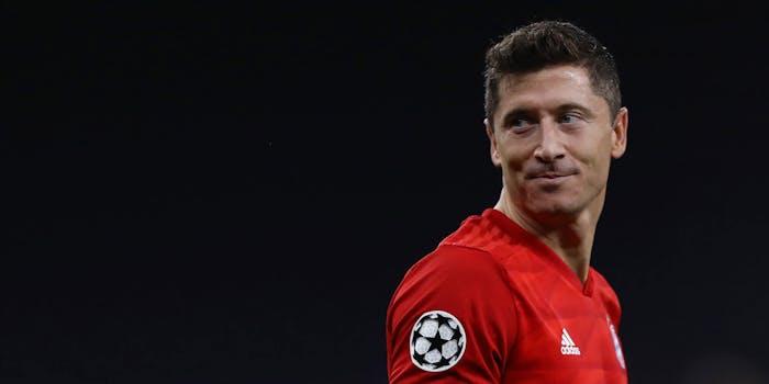 Robert Lewannichdowski of Bayern Mu