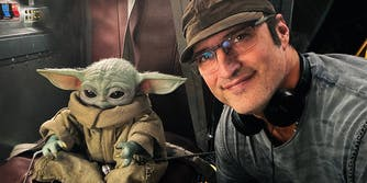 robert rodriguez and baby yoda