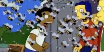 simpsons murder hornets