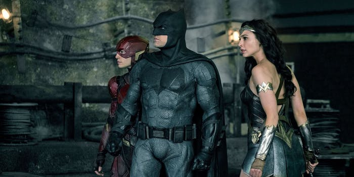 still of the justice league