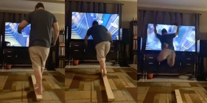 virtual reality dad TV