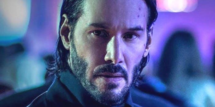 photo of Keanu Reeves in the film John Wick