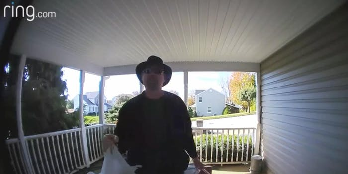 TikTok dad doorbell