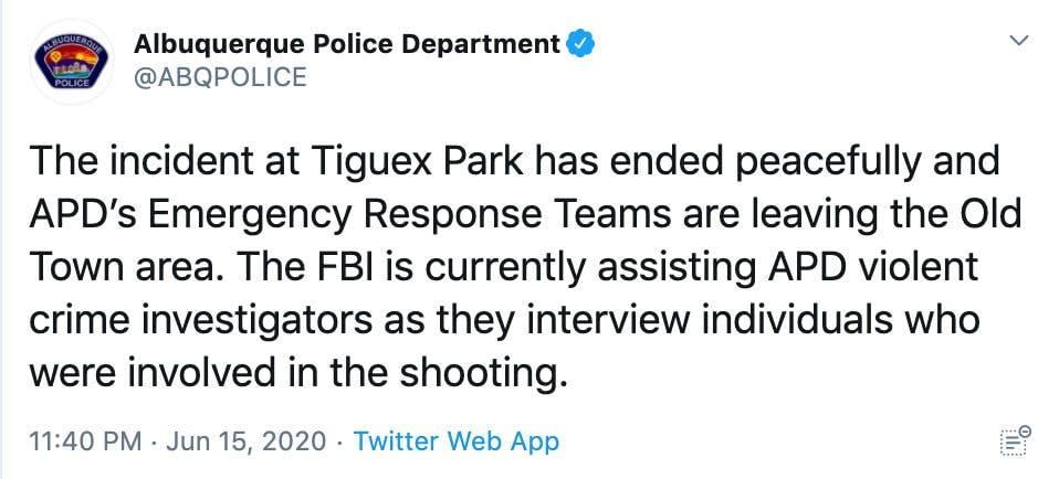 Albuequerque police