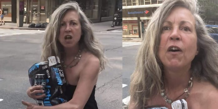 Woman seen screaming N-word at Black woman