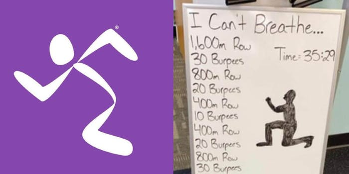 anytime fitness i can't breathe workout