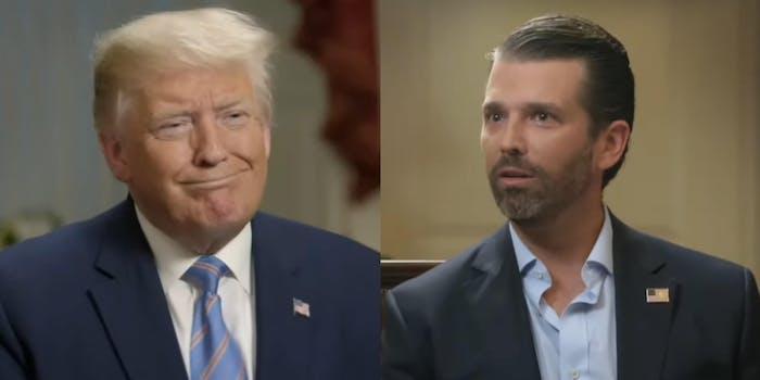 Donald Trump Donald Trump Jr. Beards