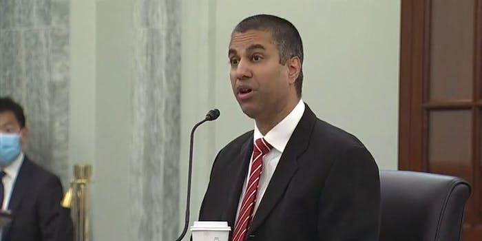 FCC Ajit Pai Section 230 Richard Blumenthal Senate Oversight Hearing