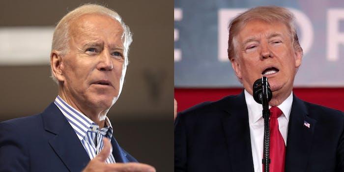 Joe Biden Donald Trump Facebook Twitter Mail In Ballots