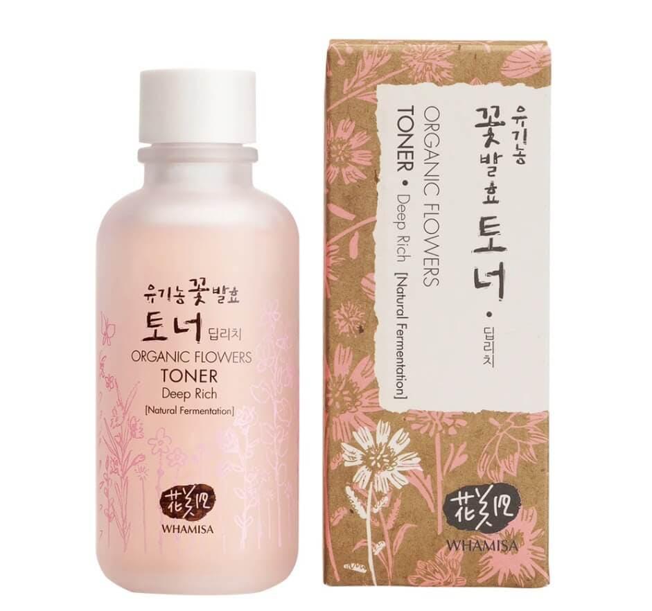 Korean beauty toners