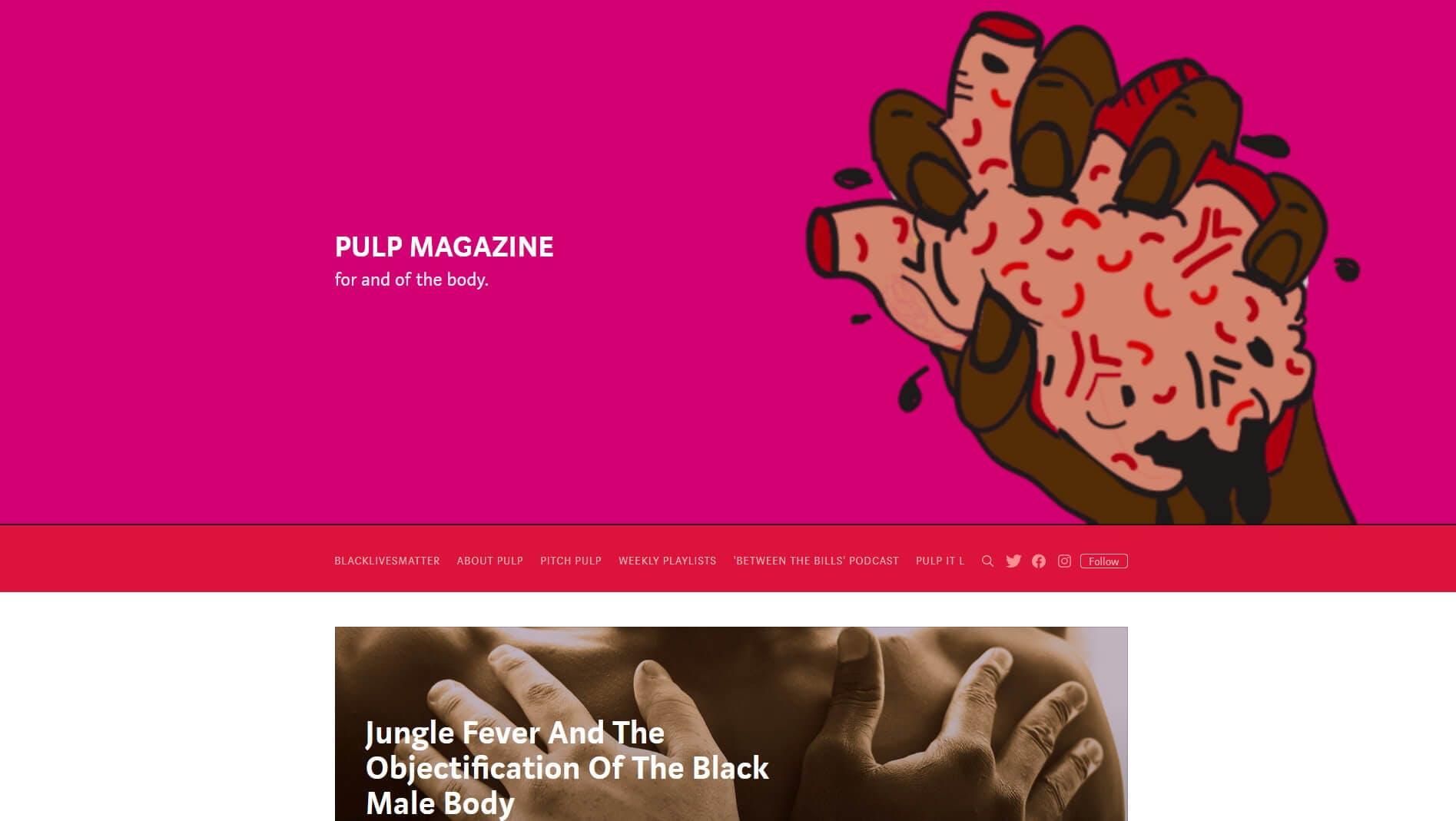 PULP Magazine Medium