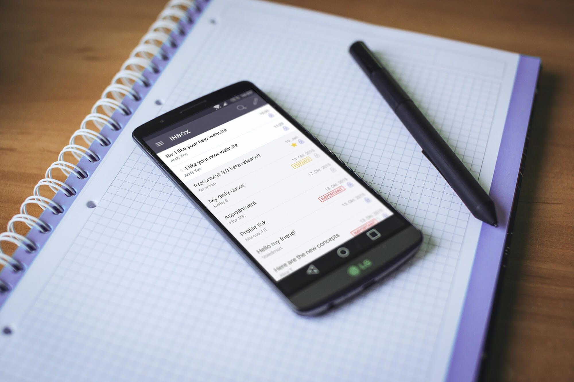 ProtonMail Mobile App