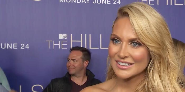 stephanie pratt the hills looters protests