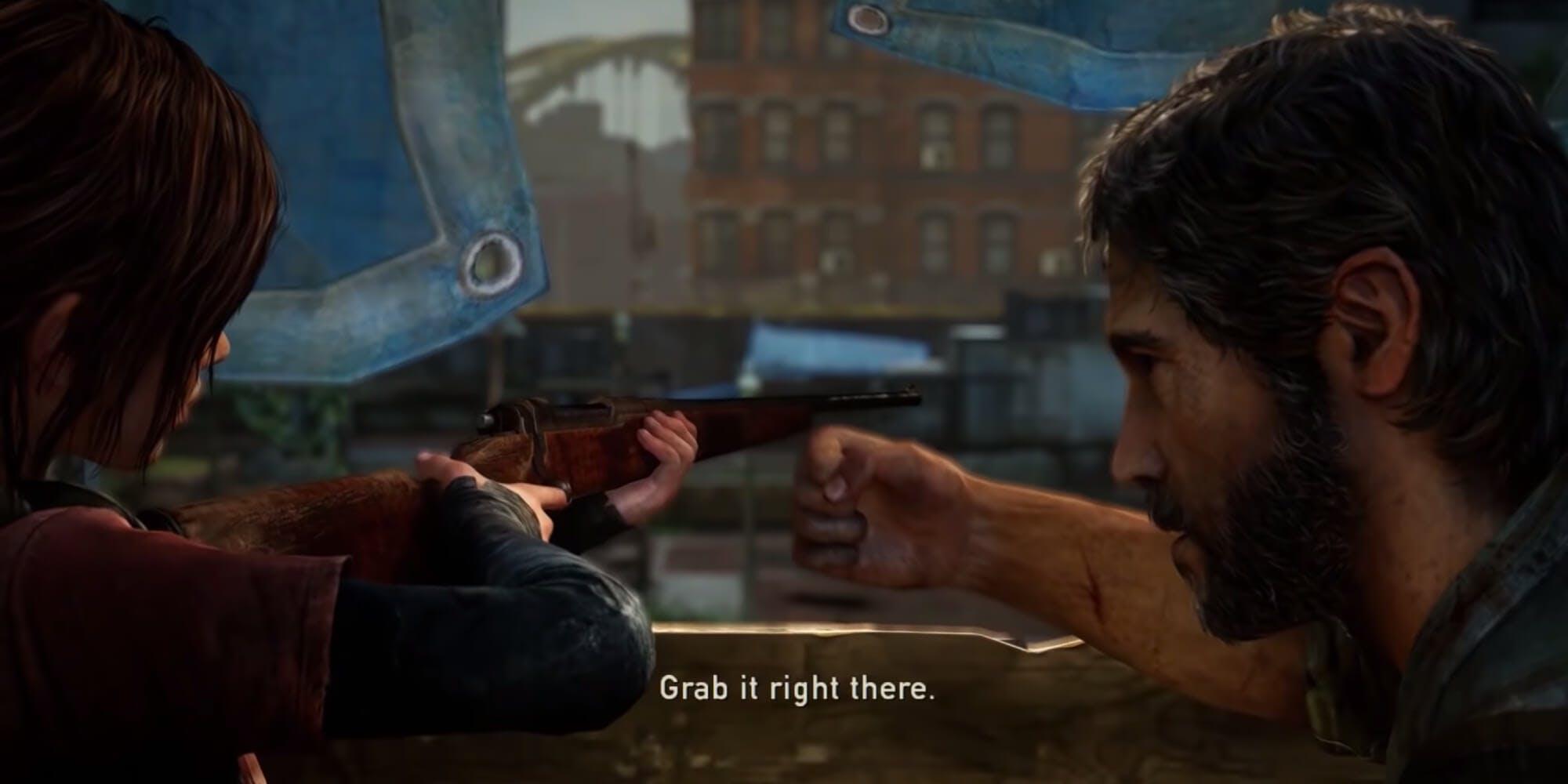 The Last of Us - Ellie and Joel