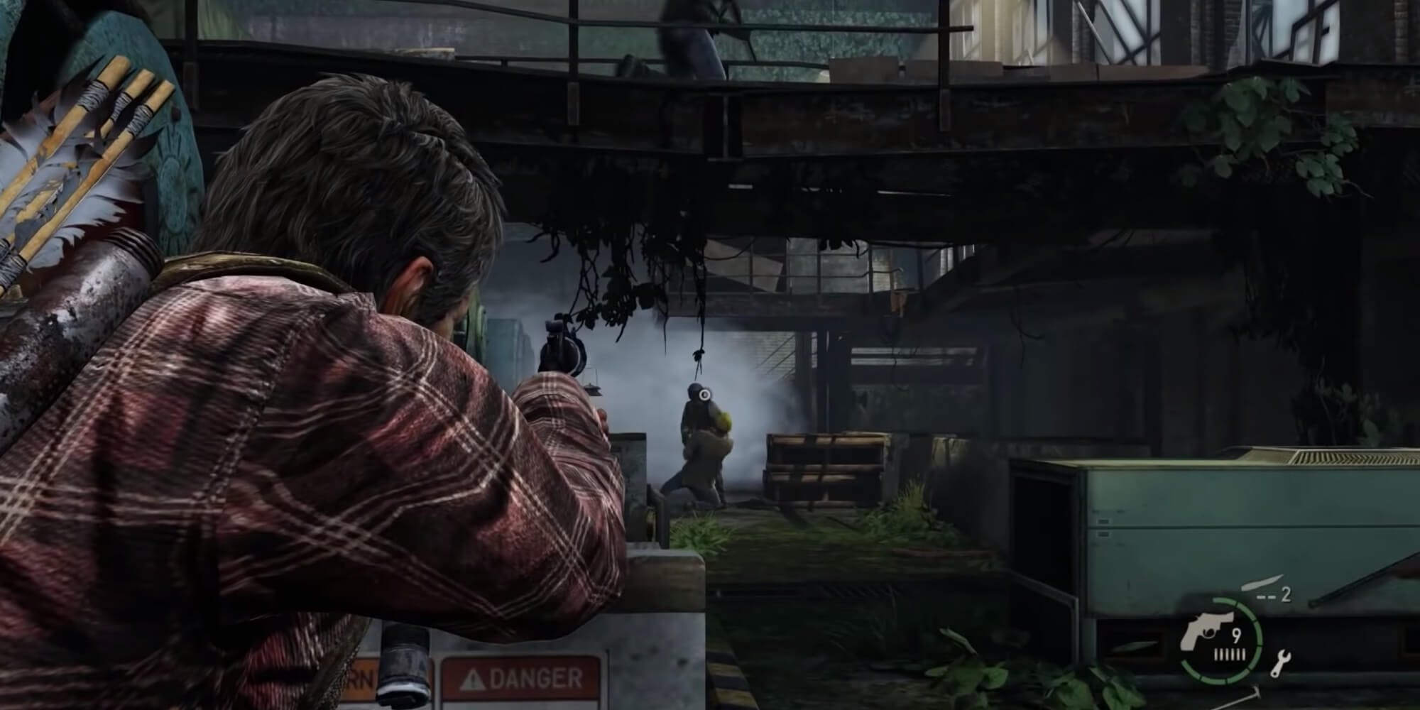 The Last of Us - combat sequence