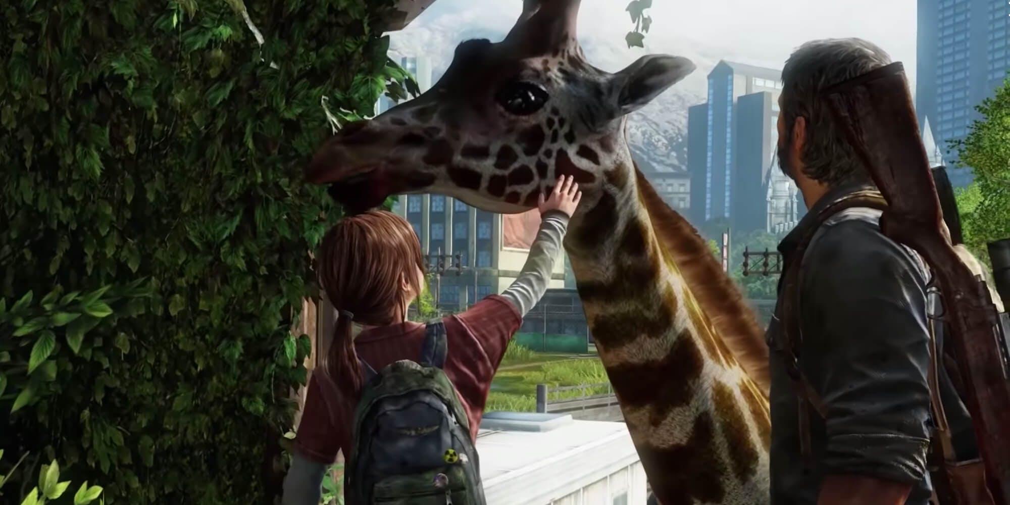 The Last of Us - giraffes