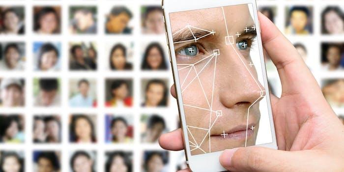 amazon bans facial recognition police